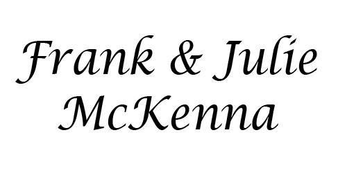 Frank & Judy McKenna